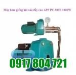 Máy bơm giếng hút sâu đẩy cao APP PC-500E 1100W. LH: 0917804721