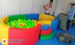 thiết bị mầm non - bể bóng cho bé