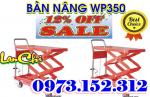 Xe nâng mặt bàn 350/ 500/ 750 kg, giá rẻ nhất thị trường