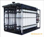 Hệ thống siêu lọc UF giữ khoáng chất cho nước, tái sử dụng nước
