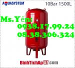 Bình tích áp Aquasystem 10bar-1500Lít - Chuyên cung cấp bình tích áp chất lượng