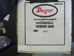 Đồng hồ đo áp suất, 100% USA, hãng Dwyer
