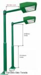 Cột Đèn và Bóng Đèn