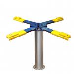 Cầu nâng rửa xe 1 trụ chữ X PL-X101 kiểu dáng 360 độ