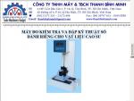 Máy kiểm tra va đập vật liệu chuyên dùng cho cao su
