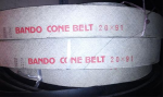 Dây curoa Bando CONE BELT 20x91, 20x71 dây trái bấu
