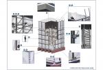 sản phẩm bồn nước lắp ghép từ các tấm vật liệu chất liệu Polyeste cường lực sợi thủy tinh