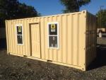 Container văn phòng 20 Feet Ốp tấm Shera
