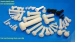 bulong nhựa Nylon, PEEK, PVDF, PTFE...