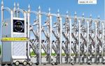 Cửa cổng xếp inox tự động, quảng đông trung quốc