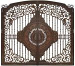 Cổng Nhôm Đúc Đẹp, Sang Trọng Cho Lâu Đài Phong Cách Châu Âu