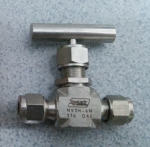 Van kim nối ống Hylok, OD x OD, SS316