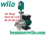 Máy bơm tăng áp biến tần chịu nhiệt Wilo PBI- L803EA giá tốt nhất