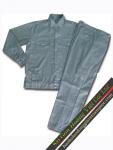 Quần áo công nhân màu xám