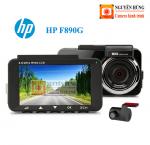 Camera hành trình hp f890g - kèm camera sau,hỗ trợ lái xe thông minh