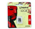Bán thẻ nhớ Kingston 32GB micro SD giá cực rẻ 120k/chiếc