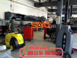 Máy rửa xe hơi nước nóng vệ sinh nội thất ô tô - gia đình