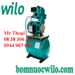 Máy bơm tăng áp tự động Wilo PW-750LEA có bình tích áp