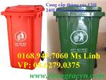 Cung cấp thùng rác nhựa 240 lít gía rẻ