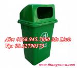 Thùng rác nhựa 90 lít nắp kín MGB90K