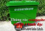 Thùng rác composite 480 lít giá rẻ