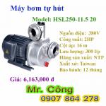 Máy bơm tự hút đầu nhôm NTP HSL250-11.5 20 2HP