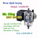 Bơm định lượng hóa chất BLUE WHITE C6250-HV