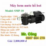 Máy bơm hồ bơi bơm nước biển APP SMP-10 1HP