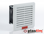 Quạt hút tủ điện kèm lọc bụi PTF1000 của hãng Plastim - Châu Âu