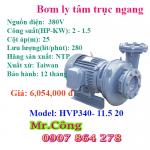 Máy bơm nước công nghiệp đầu gang Ntp Hvp340-11.5 20 2Hp