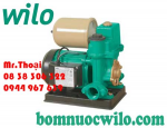 Máy bơm tăng áp tự động có bình tích áp Wilo PW-122EA có bình tích áp