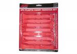 Bộ dụng cụ tháo nội thất xe model JTC-5326 gồm 8 thanh nậy nhựa, kích thước khác nhau dùng trong xưởng sửa chữa ô tô, nhãn hiệu JTC, hàng mới 100%