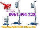 Thang nâng đơn 125kg, nâng cao 10m, thang nâng nhập khẩu giá tốt