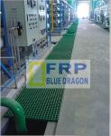 tấm nhựa lót sàn composite, frp grating, công ty FRP rồng xanh
