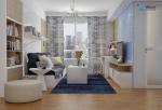 Nội thất căn hộ Masteri Thảo Điền – 1 Phòng Ngủ