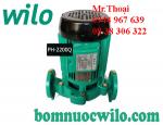 Máy bơm tuần hoàn nước nóng Wilo PH-2200Q