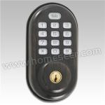 Khóa cữa thông minh, Yale D210ZW0BP Oil Rubbed Bronze Z-Wave Push Button Door Lock, Tiêu chuẩn US