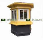 Cabin bảo vệ cỡ lớn hình lục giác màu vàng đen sản phẩm cabin giao thông đặc trưng