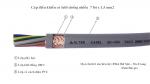 Cáp điều khiển chống nhiễu 7Gx1.5mm2
