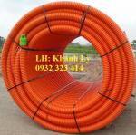 Ống nhựa gân xoắn HDPE - ống xoắn hdpe chịu lực Ospen Hồ Chí Minh