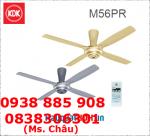 Quạt trần KDK M56XR, remote - 4 cánh