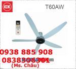 Quạt trần Cao Cấp – Quạt  Trần KDK T60AW – Có Cảm Biến Nhiệt
