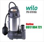 Máy bơm chìm nước biển Wilo PD-S751EA Inox có phao