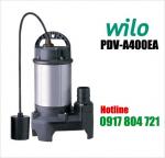 Máy bơm chìm nước thải Wilo PDV-A400EA công tắc phao thân nhôm