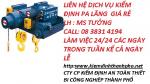 Nhận kiểm định  an toàn pa lăng giá rẻ tại TPHCM