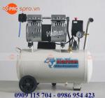 Máy nén khí mini giảm âm không dầu Haitun HT5824 bình 24 lít