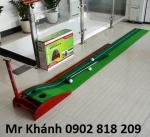 Bộ putting green mini, bộ tập gạt golf