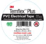 Băng keo 3M PVC Temflex Plus chống cháy