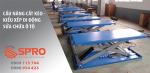 Cầu nâng cắt kéo di động - kiểu xếp giá rẻ nhất