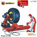Máy tháo lốp xe tải hạng nặng, ra vào vỏ ô tô tải cỡ lớn, xe mỏ Bright LC-590